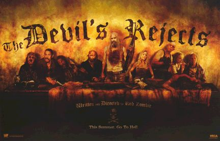 Rob Zombie's The Devils Rejects Last Supper 11x17 Poster