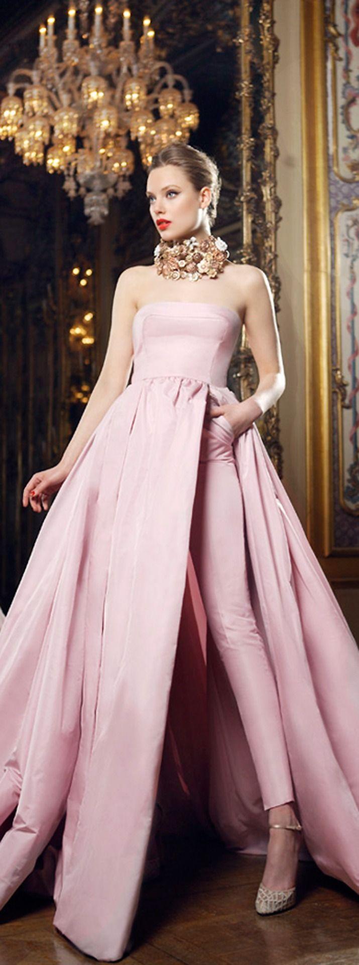 Mario Sierra ~ Evening Gown, Blush Pink, 2015