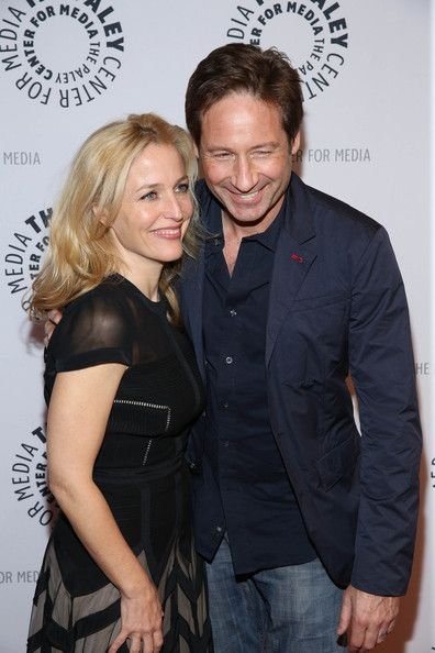 Scully and mulder dating in real life
