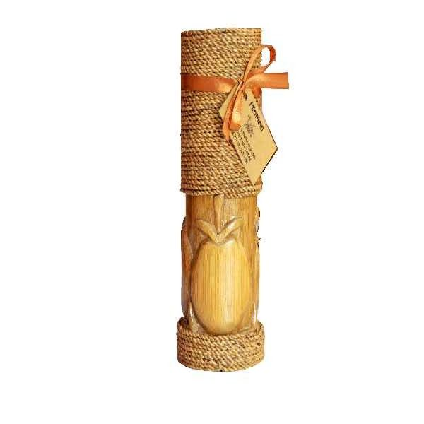 Carved Bamboo Vase
