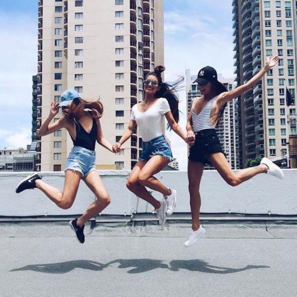 "foxeia: ""Jane Lu, Mimi and Leah Perkins """