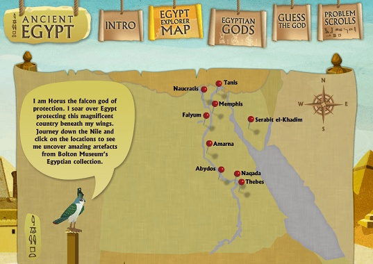 Ancient Egypt | Rincón didáctico de CCSS, Geografía e Historia