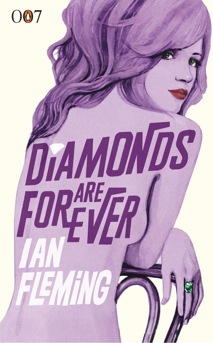 Bond Book CoversJames Of Arci, Jamesbond, Michael Gillette, Forever, Diamonds, Art, James Bond, Covers Design, Book Covers