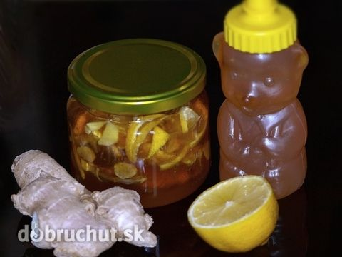 Zázvorový med proti kašľu - Domáca medicína proti kašľu…