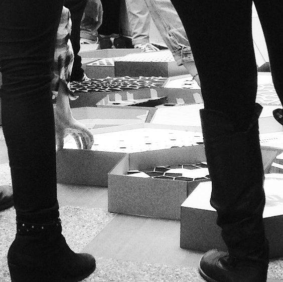 "Entrega final de la materia ""Diseñar y Fabricar"" Universidad Piloto / Final submission of ""Diseñar y Fabricar"" at Universidad Piloto  #Pseudorama #Tutoring #Docencia #DigitalFabrication #HexaGrid #Parametric #LaserCutting #DigitalEra #Education #AdvancedArchitecture #UniPiloto by pseudorama"