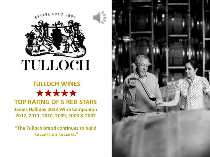 tulloch-wines-vineyard-selection by stevebgeorge via Slideshare