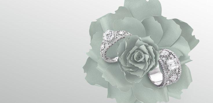 Alta gioielleria, orologi di lusso, anelli nuziali, anelli di fidanzamento e argenteria dalla rinomata casa di alta gioielleria di Milano, dal 1919