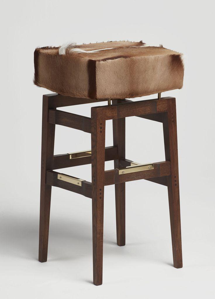 York | | Gazelle skin, oak frame and brass details   #mapswonders #lighting #furniture #interiordesigner #vintage #luxurydesign
