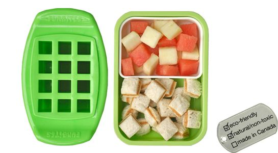 FunBites Bite Size Food Cutters make food fun! Perfect for picky eaters and #bento boxes.