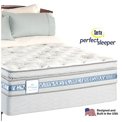 Serta® Perfect Sleeper® Hampton Bay Super Pillowtop Queen Mattress at Big Lots.