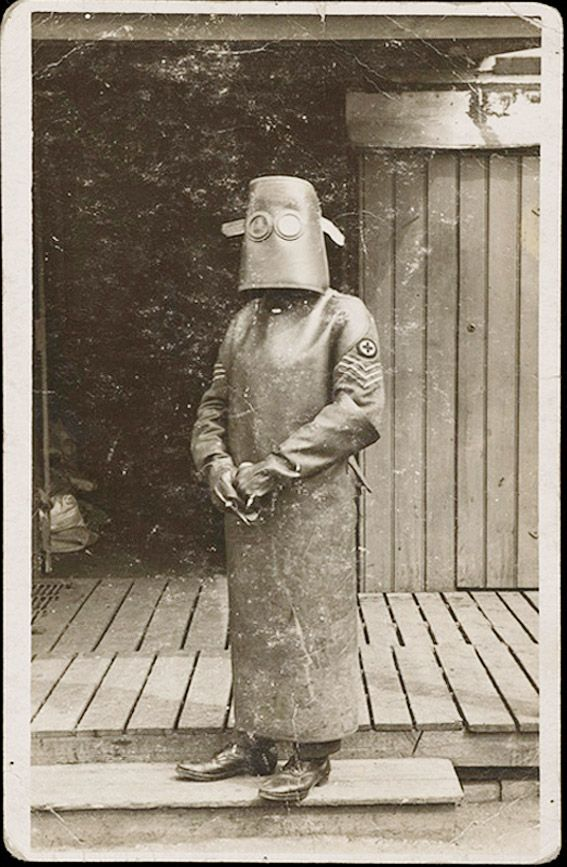 Técnico(a) de enfermagem de radiologia. Primeira Guerra Mundial, 1918