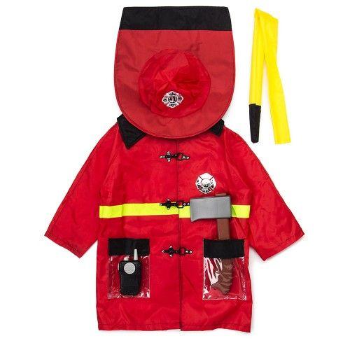 Firefighter Kids Costume on Yellow Octopus #giftsformen #gifts #firefighter #kids #costume