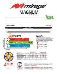 Ahorro aire magnum inverter mirage