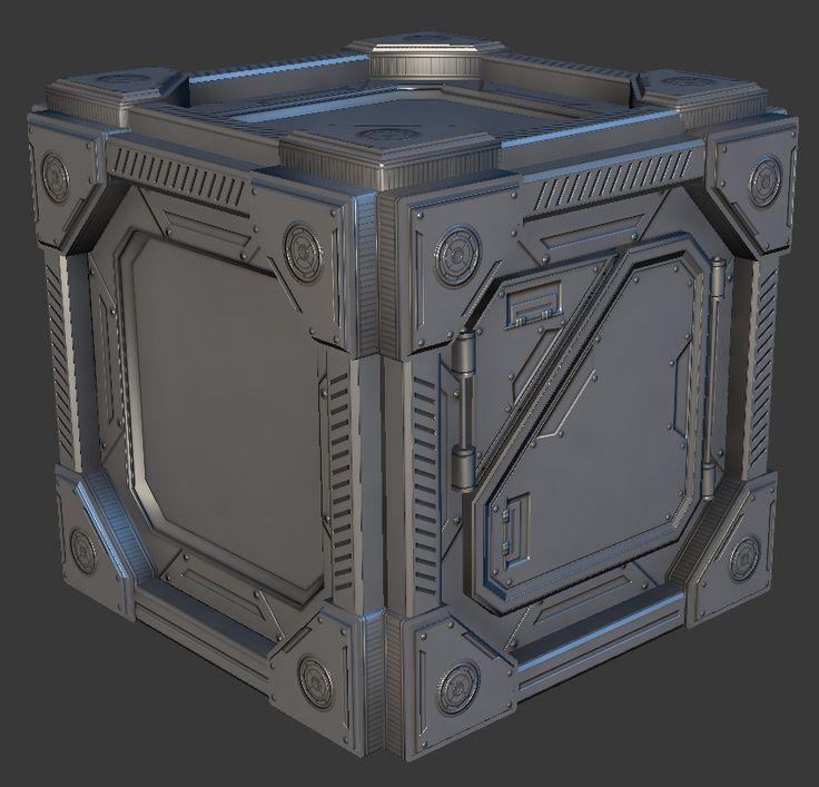 Don Pham   Environment Artist   Art Blog: Sci-Fi Crate