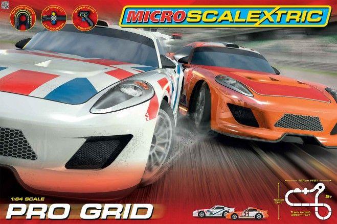New Micro Scalextric Pro Grid set