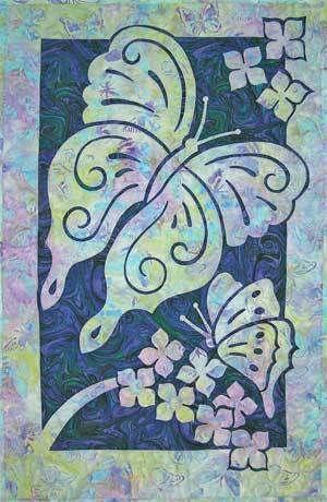 Butterfly hawaiian quilt pattern