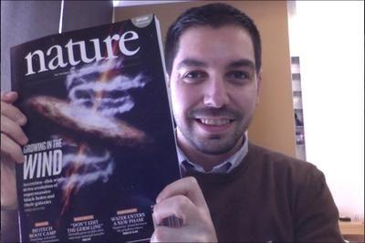 """E' un astrofisico italiano di stanza alla Nasa e associato all'Istituto Nazionale di Astrofisica (Inaf), ora Francesco Tombesi, marchigiano, con il suo team di scienziati, si è conquistato la copertina della prestigiosa rivista Nature con il titolo """"Growing in the wind"""""""