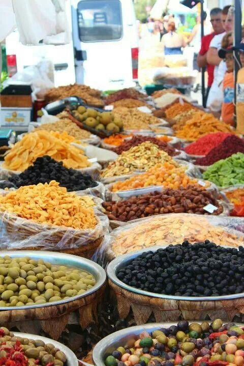 The #food market in #Otranto, #Puglia, Italy