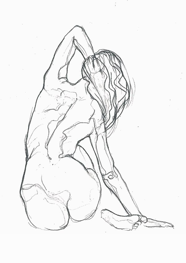 NUDES is our special collection of minimalistic drawings inspired by the beauty of women's body