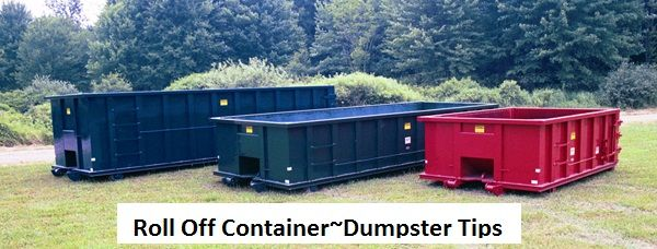 Roll Off Container~Dumpster Tips.Looking to rent a roll off container for that messy cleanup at your Central NJ home? A lot of folks want to know the difference between a roll off container and a dumpster. In truth a roll off container is just another type of dumpster, but with different features. Read more about Roll Off Container~Dumpster Tips at http://rgbdisposal.com/roll-off-containers-central-nj/