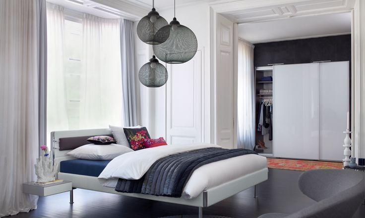Collectie Prima-Lux en Idee+ moderne boxspring aan een zacht - modernes bett design trends 2012