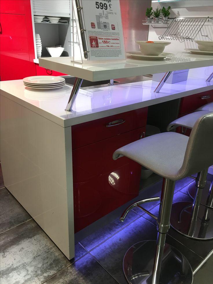 les 21 meilleures images du tableau table bar cuisine sur pinterest table bar cuisine. Black Bedroom Furniture Sets. Home Design Ideas