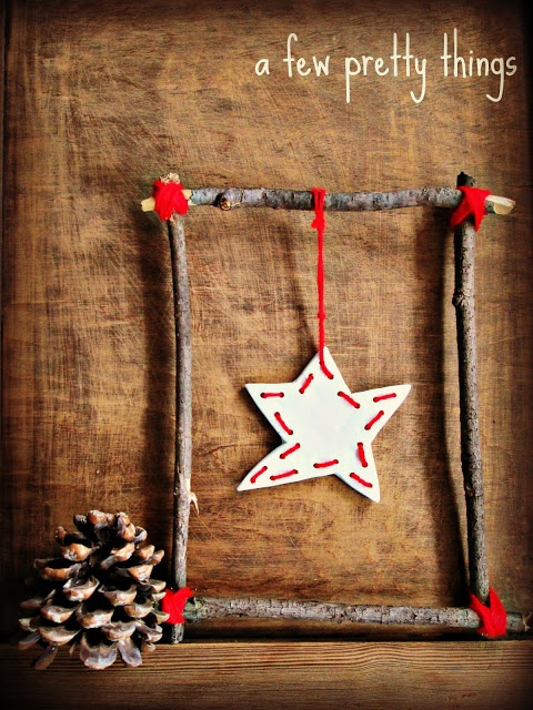 Rustic Christmas Star Tutorial