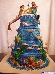Mermaids: Amazing Cakes, Awesome Cakes, Mermaids, Wedding Cakes, Sea Cake, Creative Cakes, Mermaid Cakes, Cake Designs, Under The Sea