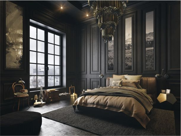 25 beste idee235n over donkere slaapkamers op pinterest