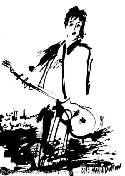 Paul - Ink on Paper