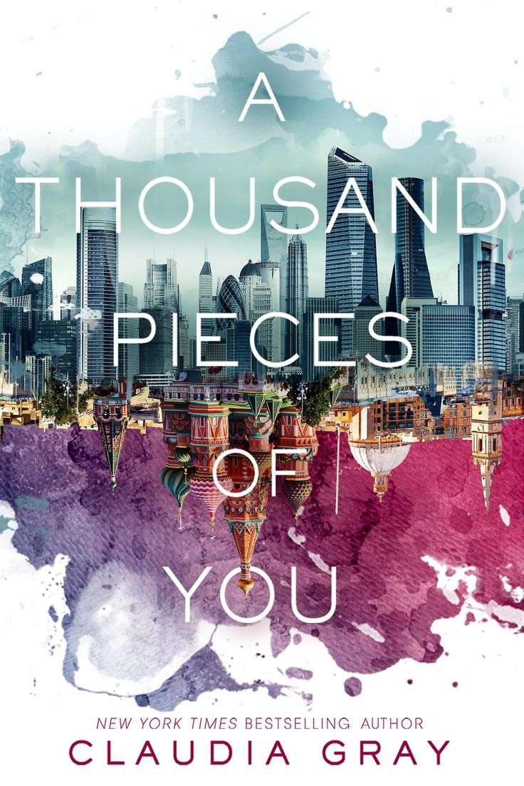 #TeenReadWeek #PenguinTeen Cover Reveal for A THOUSAND PIECES OF YOU by Clauda Gray via EpicReads