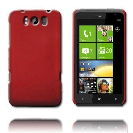 Hard Shell (Rød) HTC Titan Cover
