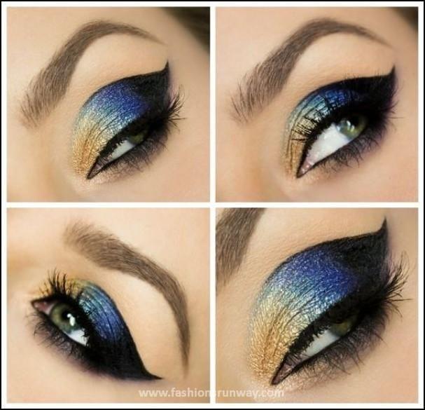 Arabian Eye Makeup Tutorial 2016 Pics #arabicmakeup