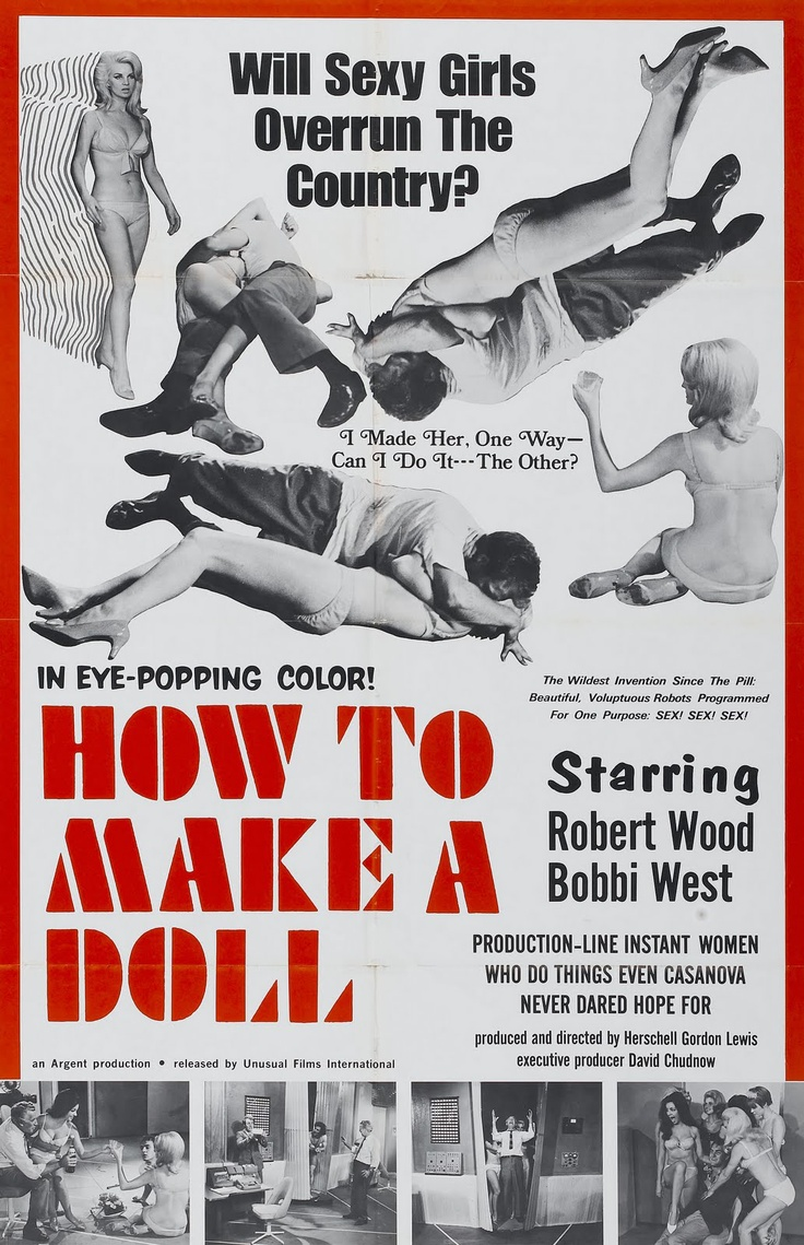 How To Make A Doll (1968) starring Robert Wood & Bobbi West — In Eye-Popping Color!