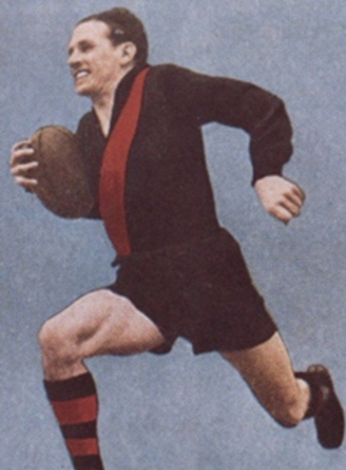 Legend - Dick Reynolds (Essendon). Games – 320. The 'King' in a dominant Essendon era. His roving skill, leadership and class in using the football was unparalleled. One of four triple Brownlow Medallists.