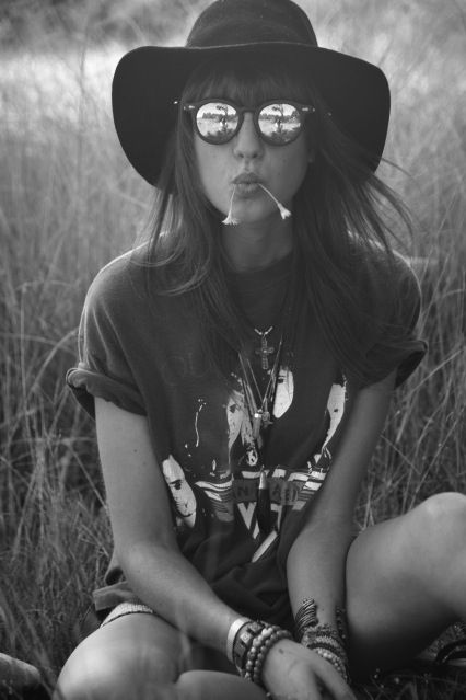 Cool Sunglass Lenses and a Great Hat  #sunglasses #hat