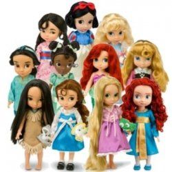 Disney's Award Winning collection of dolls created with input from the Disney Animators have created a new line of young Disney Princess dolls,...