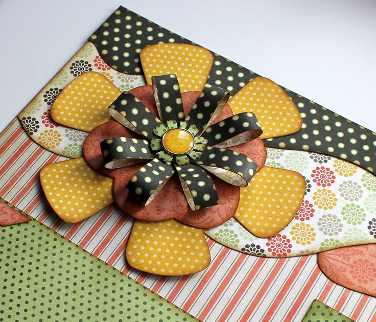 "Aren't They Cute? Today's post I'd like to focus on creating flowers with your strips. ""Aren't they cute?"" I first saw this technique on one of Scrapbook Expo's Tip of the Day episodes on My Craft Channel. I immediately knew I could make them with our strips and could just see in my mind what …"
