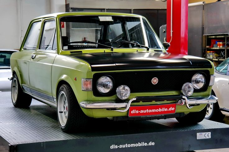 #Fiat #128 #Rally 1974-fiat-124-31605-1 this was my very first car, brand new, crashed it on my second day owning it, repaired and drove, rallyed and slalomed it, on the best Michelins; it was a truly great car, then I got T-boned in it.