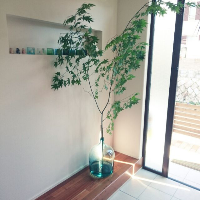 teruboさんの、枝もの,花瓶,RC広島支部,玄関/入り口,のお部屋写真