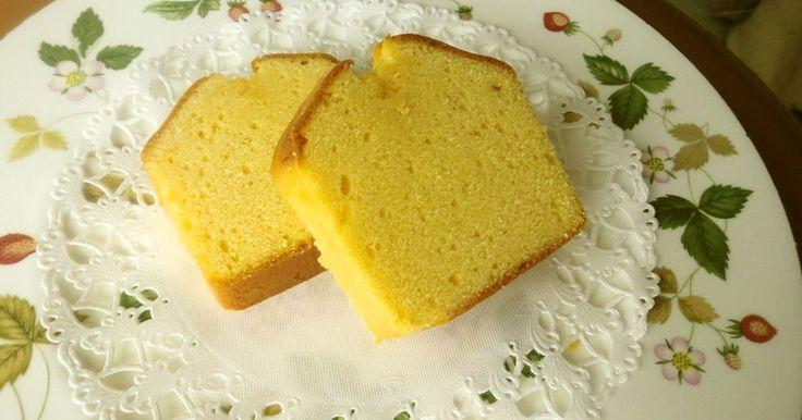 2000件超え大感謝✿ベーキングP無しなので本当にしっとりのパウンドケーキです。感動の口当たり♡卵はミキサー任せで楽々♪