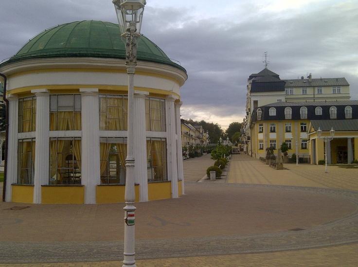 One of the many Spa's at Františkovy Lázně in Czech Republic