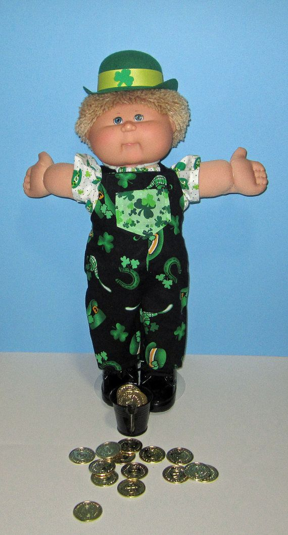 Cabbage Patch Kids  Doll Clothes St Patricks Day by Dakocreations