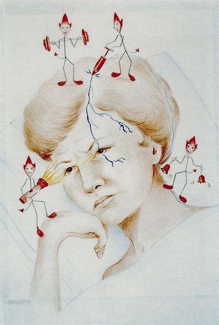 #Behcets Migraines  Migraine Art #069 | Flickr - Photo Sharing!