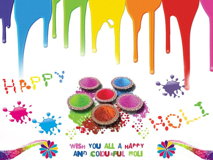 Enjoy every color of #Holi and you will get every happiness you desire. God is always with u. Enjoy every moment. Keep smiling. #HappyHoli