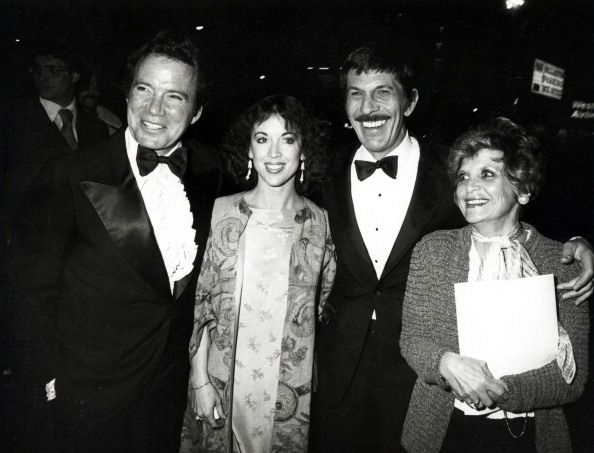 William Shatner Marcy Lafferty <b>Leonard Nimoy</b> and Sandra Zober News