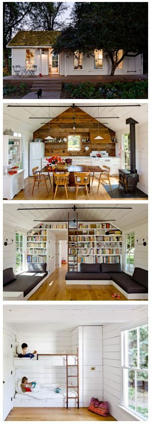 awesome 540 sq ft home w green roof on Sauvie Island, about 15 minutes north of Portland... by http://www.danazhome-decorations.xyz/tiny-homes/540-sq-ft-home-w-green-roof-on-sauvie-island-about-15-minutes-north-of-portland/
