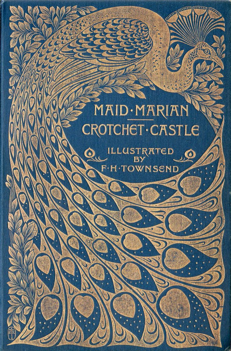 Poster design 19th century - Michaelmoonsbookshop Attractive Late 19th Century Gilt Design On Blue Cloth The Beautiful Art Nouveau