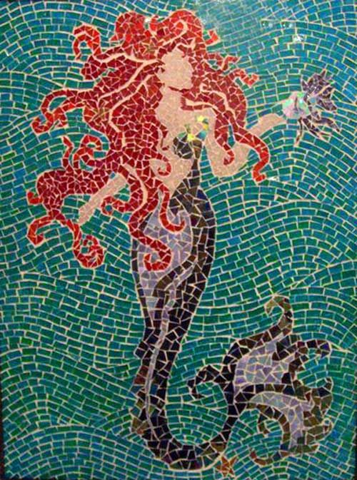 Image gallery mermaid tile for Carrelage 55x55
