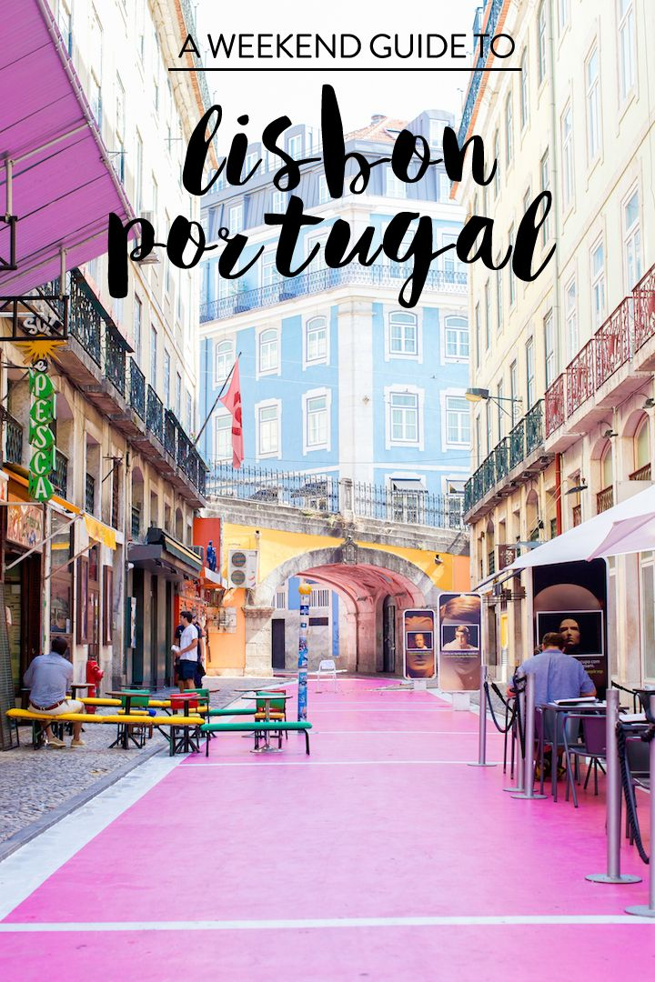 a guide to lisbon, portugal. | Charmingly Styled RePinned by : www.powercouplelife.com
